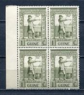 Portuguese Guinea 1938 Sc# 233 Vasco Da Gama Block Of 4 MNH - Portuguese Guinea