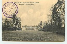 Grand Centre D´Emission De SAINTE-ASSISE - Le Château - Entrée Principale - Autres Communes