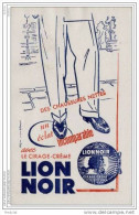 BUVARD LABORATOIRE CIRAGE  LE LION NOIR - Buvards, Protège-cahiers Illustrés