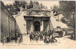 TOULON - La Porte De L' Arsenal Maritime - La Sortie   (65513) - Toulon