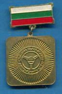 F1633 / UNION OF BULGARIAN MOTORISTS  - Bulgaria Bulgarie Bulgarien Bulgarije - ORDER MEDAL - Professionals / Firms