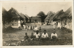 Fiji  Village Real Photo No 705 Kids P. Used Honolulu Hawaii 1937 - Fiji