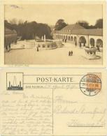 AK Bad Nauheim 1917, Badeanlage, Sprudelhof - Bad Nauheim