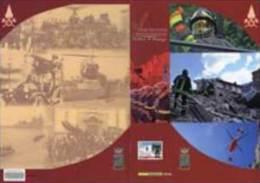 2010- ITALIA - FOLDER RADUNO NAZIONALE DEI VIGILI DEL FUOCO - 6. 1946-.. Republic