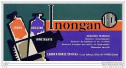 BUVARD LABO  ETHICAL  CREME ONGUENT INONGAN - Produits Pharmaceutiques