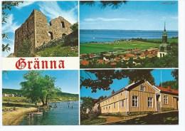 @ CP GRANNA, BRADEHUS, UTSIKT FRAN GRANNABERGET, BADSTRANDEN, ANDREEMUSEET, SUEDE - Suède
