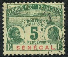 Sénégal (1906) Taxe N 4 (o)