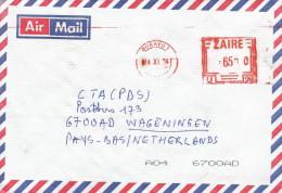 "RDC DRC Congo Zaire 2004 Bukavu 1 Meter Franking Pitney Bowes ""MultiValue"" U93 Cover - Democratic Republic Of Congo (1997 - ...)"