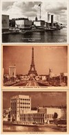PARIS - 3 CPA - Expo Internationale 1937 - Pavillons De La Suède ...Tchécoslovaquie......  65633) - Exhibitions