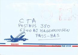 RDC DRC Congo Zaire 2004 Kin / Gombe Meter Franking Frama A21 Cover - Democratische Republiek Congo (1997 - ...)