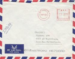 RDC DRC Congo Zaire 2002 Kin / Limete Meter Franking Frama A20 Cover - Democratische Republiek Congo (1997 - ...)