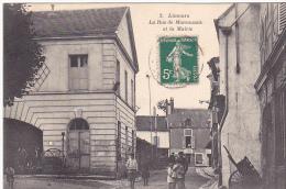 23423 -LIMOURS EN ESSONNE La Rue De Marcoussis Et La Mairie  -3 Lib Nouvelle Rambouillet - - Limours