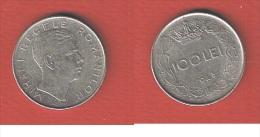 ROUMANIE  //  100 LEI 1943   //  KM # 64   //   TTB - Roumanie