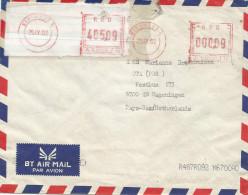 RDC DRC Congo Zaire 2002 Kinshasa 6 Meter Franking Label Frama A15 Cover - Democratische Republiek Congo (1997 - ...)