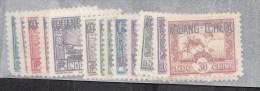 Kouang-Tchéou N° 52 à 72** Sans Les 63-64-65-67-68-70-71 - Unused Stamps