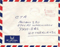 RDC DRC Congo Zaire 2001 Lubumbashi 1 Meter Franking Frama A07 Cover - Democratische Republiek Congo (1997 - ...)