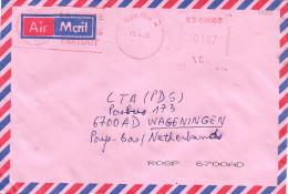 """RDC DRC Congo Zaire 2005 Bukavu Meter Franking Hasler """"Mailmaster"""" With Slogan Cover - Democratische Republiek Congo (1997 - ...)"""