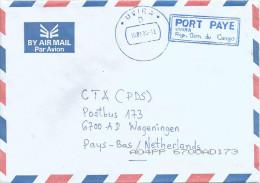 RDC DRC Congo Zaire 2004 Uvira Code Letter D Port Paye Unfranked Cover - Democratische Republiek Congo (1997 - ...)