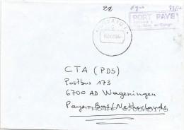 RDC DRC Congo Zaire 2004 Bukavu 1 Code Letter C Port Paye Unfranked Cover - Democratische Republiek Congo (1997 - ...)