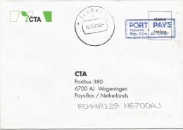 RDC DRC Congo Zaire 2000 Bukavu 1 Code Letter I Port Paye Unfranked Cover - Democratische Republiek Congo (1997 - ...)