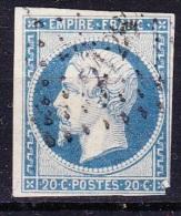 FRANCE 1853  NAPOLEON   YT 14A - 1853-1860 Napoleone III