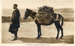 Melilla - Indigena Portador De Lena - Melilla