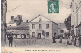 23433 -LIMOURS EN ESSONNE Place De La Mairie, Rue Des Ecoles -ed Vve Coiscaud - - Limours