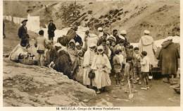 Melilla - Grupo De Moros Vendedores - Melilla