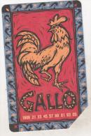 Italy Old Phonecard - Zodiac Signs - Gallo - Zodiaco