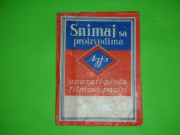 Agfa,photo Shop,advertising,negative,film,photography,picture Store,reklame,vintage - Material Y Accesorios