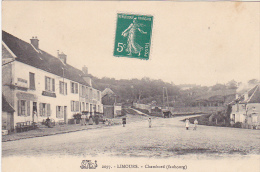 23441 LIMOURS Faubourg Chambord -salamandre 2097 -enfants- Café Restaurant Rongidere? Marge...