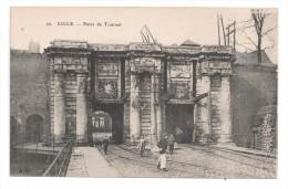 CP, 59, LILLE, Porte De Tournai, Vierge - Lille