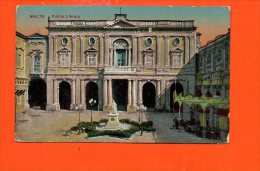 MALTE - MALTA - Public Library - Malte