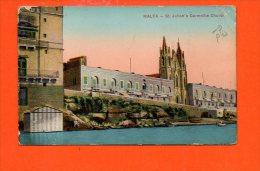 MALTE - MALTA - St. Julian's Carmelite Church - Malte