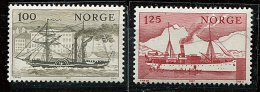 Norvège ** N° 703/704 - Service Cotier En Norvège - Unused Stamps