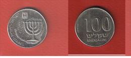 ISRAEL  //  100 SHEQALIM  //  KM  #  146  // SUP - Israël