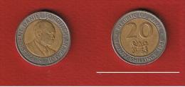 KENYA  //  20 SHILLING 1998  //  KM  #  32  // TB+ - Kenya