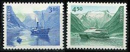 "Norvège ** N° 1237/1238 - ""Norden 98"" Patrimoine Maritime - Unused Stamps"