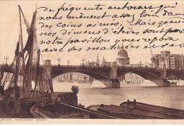 23457 London - Southwark Bridge  Photo Chram -peniche Voilier - Australie