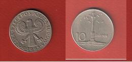 POLOGNE  // 10 ZLOTYCH  1965   //  KM  #  55   // TTB - Polonia