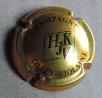 Capsule De Champagne - Heraut Jubine (H.J.K.V.)  - N°2 -  Or Et Noir - Champagne