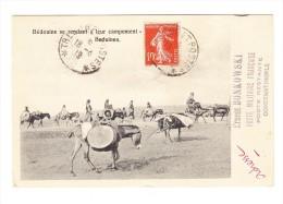 """""""Tresor Et Postes 18.4.19"""" K1 Auf AK """"Beduinen"""" Von Constantinopel Nach Zürich - Lettres & Documents"""