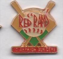 Baseball , Red Rams , Arpajon Sur Cére , Cantal - Honkbal