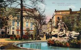 31 - Toulouse - Square Wilson, Statue De Goudouli (colorisée) - Toulouse