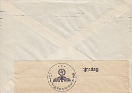 Denmark BERLIN - CHARLOTTENBURG 1940 Cover Brief Denmark Geprüft Oberkommando Der Wehrmacht Label Hindenburg (2 Scans) - Deutschland