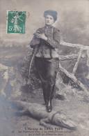 23483 Héroïne LUNA PARK - Charmeuse Siva, à Ses Pieds énorme Crocodile Devorer Bras -ND 89 France Femme