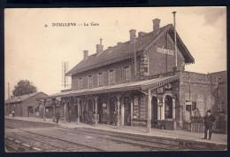 DOULLENS - LA GARE ( INTERIEUR) - Doullens