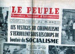 Algerie- Journal Le Peuple Du 22/06/1964 - Journaux - Quotidiens