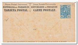 Paraguay 3 Centavos Postcard - Paraguay