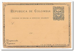 Colombia, 2 Centavos Postcard - Colombia